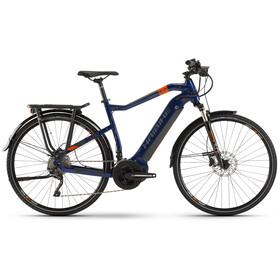 HAIBIKE SDURO Trekking 5.0 Herre blue/orange/titan
